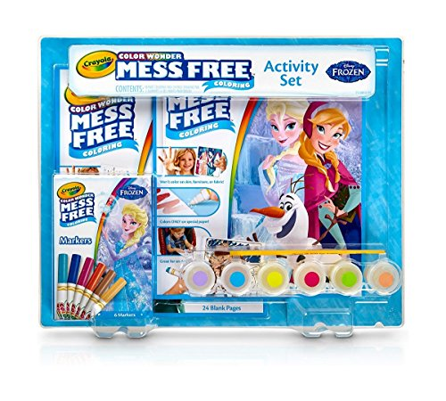 Crayola Frozen Mess Free Coloring Activity