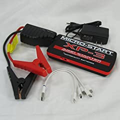 Antigravity Batteries XP-3 Micro Start - JUMPS A V8 - Personal Battery Jump Starter & Charger - Mini Portable Back Up Power Supply - Phone Charger - Flashlight SOS - WITH FULL ANTIGRAVITY WARRANTY