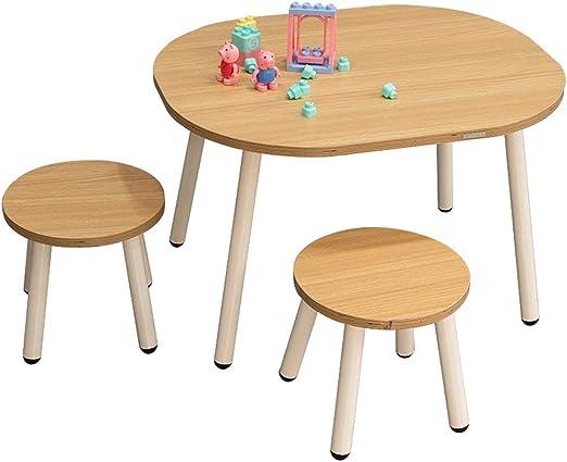 Mesa y Silla para niños Actividad de Madera Mesa de Actividades de ...