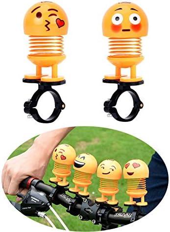 [해외]ESA Supplies Emoji Toy Bike Decoration for Children Teens - Bike Accessories for Kids Boys Girls Cute Dancing Doll Toys for Bikes Motorcycles Scooters / ESA Supplies Emoji Toy Bike Decoration for Children Teens - Bike Accessories f...