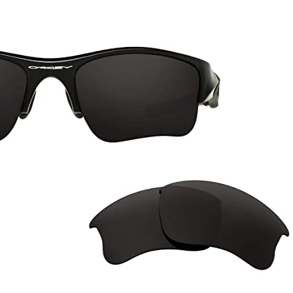 28294255b71a1 Oak ban Polarized Replacement Lenses for Oakley Flak Jacket XLJ Sunglass-Multi  Options Black