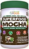 Superfood Mocha Greens by Feel Great 365, Doctor Formulated, Organic, Dairy-Free, and Vegan Packed with Real Green Vegetables, Polyphenols and Probiotics. Best Tasting. Helps Improve Digestive Health