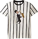 Dolce & Gabbana Kids Boy's Jazz Musician T-Shirt (Big Kids) Striped T-Shirt