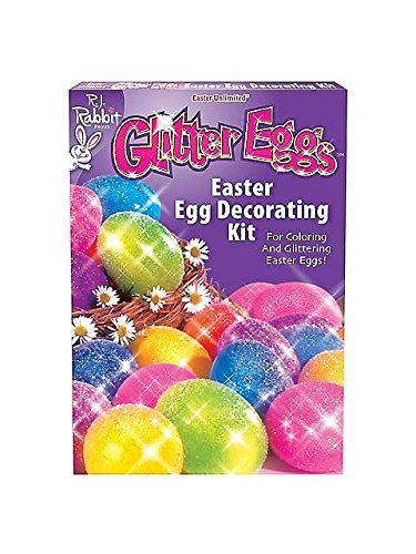 itter Eggs Easter Egg Decorating Kit -Each (Multicolored Easter Eggs)