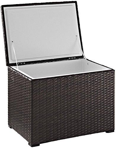 Crosley Furniture Palm Harbor Outdoor Wicker 60-Quart Cooler - ()