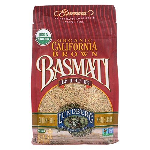 Lundberg Family Farms Organic California Basmati Rice - Brown - Case of 6 - 1 lb. by Lundberg