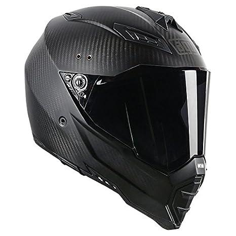 AGV AX-8 Evo Naked Road Helmet (Carbon Fiber, Small)