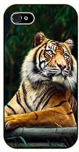 iPhone 6 Siberian tiger - black plastic case / Nature, Animals, Places Series