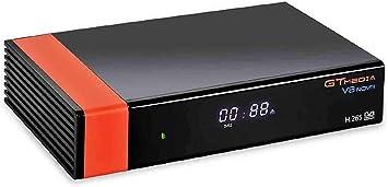 Todo para el streamer: GT Media V8 Nova DVB-S2 Decodificador Satélite Receptor de TV Digital con Wi-Fi Incorporado / SCART / 1080P Full HD / FTA Soporte CC CAM, PVR Ready, Newcam, Youtube, PowerVu Dre Biss Clave por Aoxun