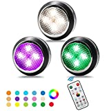 Puck Lights with Remote GALLIA Puck Lights Have