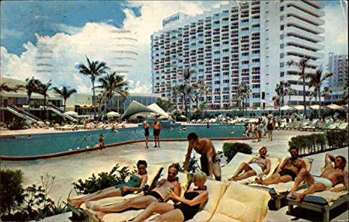 Oceanfront, Bal Harbour Miami Beach, Florida Original Vintage - Miami Harbour