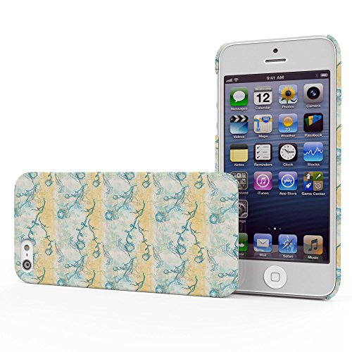 Koveru Back Cover Case for Apple iPhone 5S - Map Revised