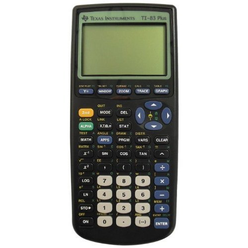 Texas Instruments Ti-83 Plus Graphing Calculator(packaging May Vary) by Texas Instruments