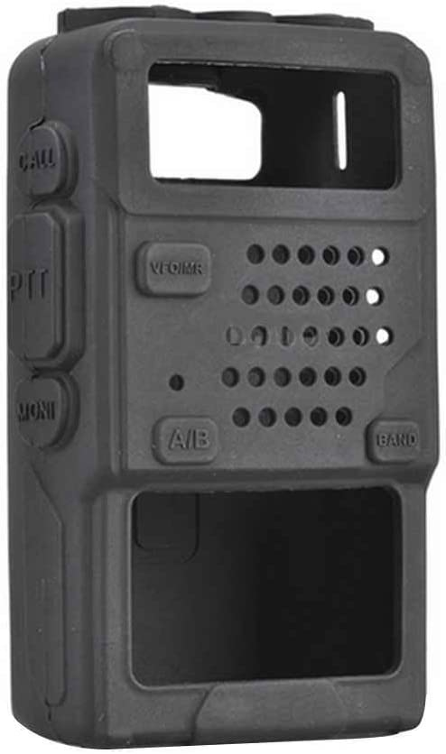 Topker Funda de Silicona Protectora Suave Bolsa for UV-5R,Protective Case for de UV-5R / UV-5RA / UV-5R Plus Radio walkie Talkie: Amazon.es: Hogar