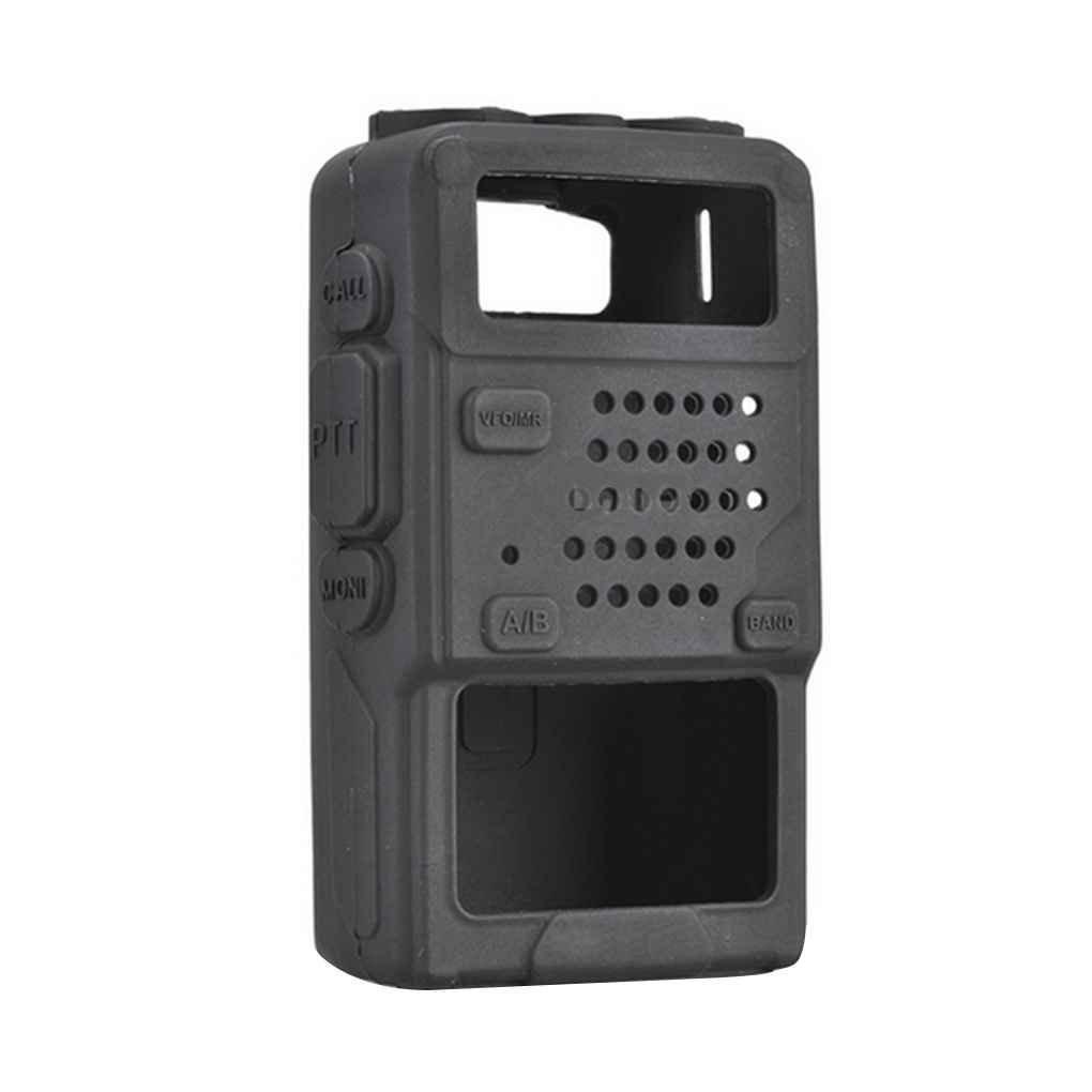 Beaums Silicone Soft Protective Case Bag for Baofeng UV-5R/UV-5RA/UV-5R Plus Walkie Talkie Radio
