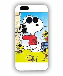 Cute Funda Case For Iphone 6s - Snoopy Cartoon Fantastic Artistic Cool Pattern Tough Hard Anti Slip Hard Shell Funda Case For Iphone 6 / 6s (4.7 inch)