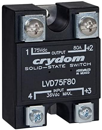 Crydom lvd75d40 solid state relay 40 a panel screw 3 vdc 75 crydom lvd75d40 solid state relay 40 a panel screw 3 vdc sciox Gallery