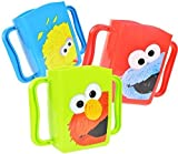 Set of 3 Sesame Street Juice Box Drink Holders (Elmo, Cookie Monster, Big Bird)