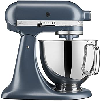 Amazon Com Kitchenaid Ksm150psbs Artisan Series 5 Qt