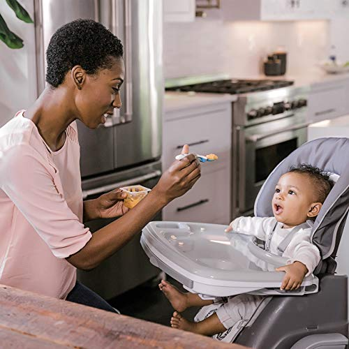 Ingenuity SmartServe 4-in-1 High Chair with Swing Out Tray – Clayton – High Chair, Toddler Chair, and Booster by Ingenuity (Image #14)