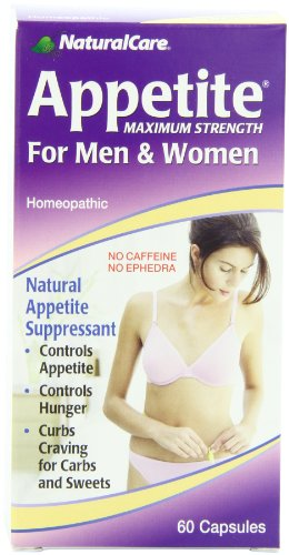 (NaturalCare Homeopathic Maximum Appetite Suppressant for Men and Women, 60)