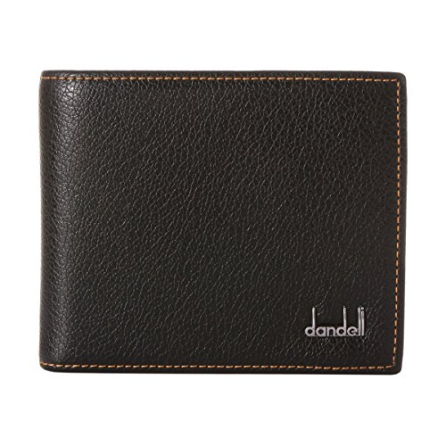 Damara Classic Men's Bifold Faux Leather Wallet Money Clips,Black