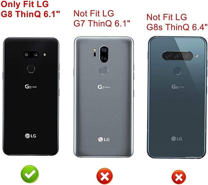 Funda para LG G8 ThinQ,Fashion Design [Antigolpes] con 360 Anillo ...