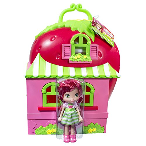 The Bridge Direct Strawberry Shortcake House Playset: Party House by The Bridge Direct
