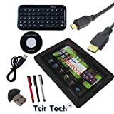 Tsirtech 5 in 1 Blackberry Playbook Bundle with Bluetooth Keyboard+HDMI Cable+Stylus+Usb Charger