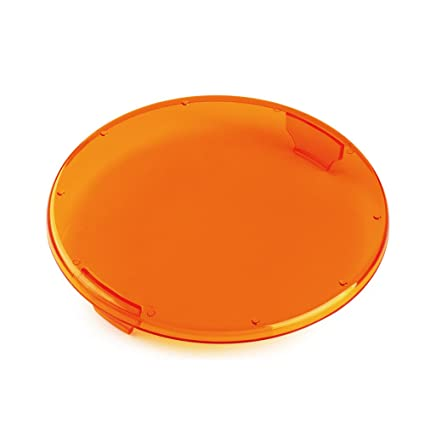 Plastic Light Covers >> Xprite Plastic Clip On Circle Led Amber Lens Cover For 9 Inch 60w Round Fish Eye 4d Lens Off Road Led Work Light