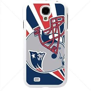 NFL American football New England Patriots Samsung Galaxy S4 SIV I9500 TPU Soft Black or White case (White)