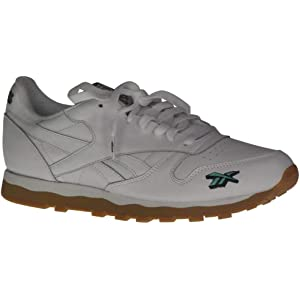 86efb11916fd2 Reebok Men s CL Leather 3AM Fashion Sneakers Frko White Primal Red Aviator