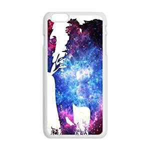 Abstract elephant and skull Cell Phone Case for Iphone 6 Plus
