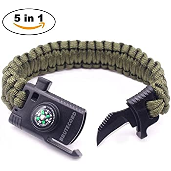 Paracord Survival Bracelet with Tools