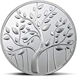 Silverwala 999 Silver Purity Lucky Banyan Tree 5 Gram Coin (Best wishes Gift)