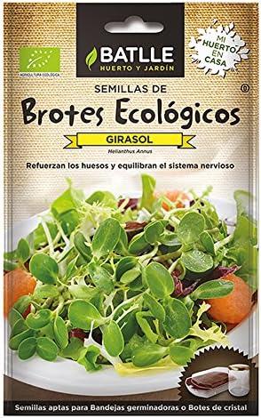 Comprar Semillas Ecológicas Brotes - Brotes ecológicos de Girasol - Batlle