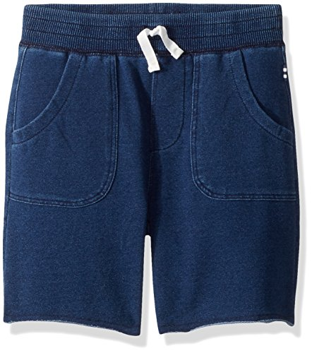 - Splendid Boys' Toddler Baby French Terry Indigo Short, Medium Stone, 4T