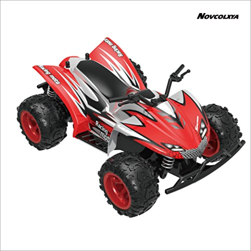 Novcolxya Model RC Cars Rock Off-Road Vehicle Crawler Truck 2.4Ghz 2WD High Speed 1:22 Radio Remote Control Racing Cars Electric Fast Race Buggy Hobby Car Best Gift for Kids and Adults