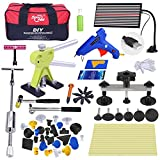Super PDR 57pcs NEW Auto Car BodyPaintless Dent Repair Tools PDR Puller Dent Lifter Puller Tabs with Tools Bag