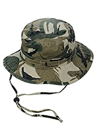 Mega Cap Washed Hunting Fishing Outdoor Hat-Camo W11S41D