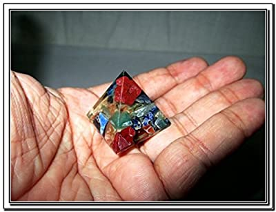 Wow Chakra Single Baby Pyramid 20 - 25 mm Chokurei X-mas Crystal Gemstones Unique Marvelous