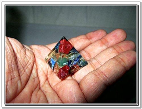 Wow Chakra Single Baby Pyramid 20 - 25 mm Chokurei X-mas Crystal Gemstones Unique Marvelous -  Jet International, Jet International 280