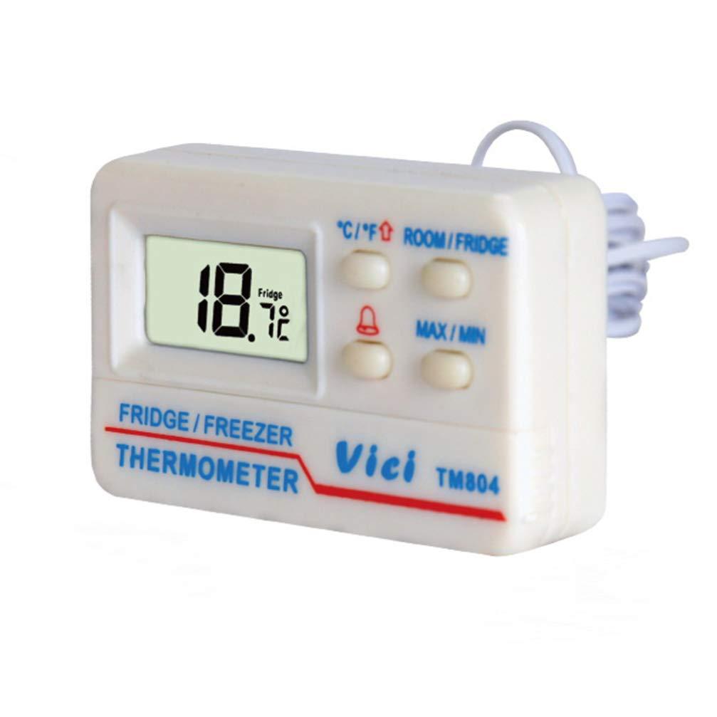Accessoires Hemobllo Refrigerateur Congelateur Thermometre Alarme Haute Basse Temperature Alarmes Affichage Numerique Pour Cuisine Interieur Exterieur Blanc Cuisine Maison Hotelaomori Co Jp