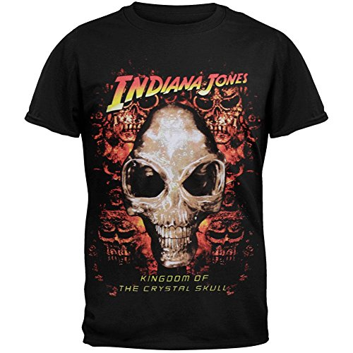 Indiana Jones - Crystal Skull Youth T-Shirt - Youth 8 - Crystal Skull T-shirt