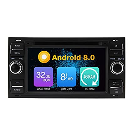KUNFINE® Octa Core 4 GB Ram Android 8,0 Auto DVD GPS Navegación Multimedia Player ...