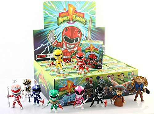 The Loyal Subjects Power Rangers Mighty Morphin Wave 1 Blind Box Action Figure (Power Rangers White Ranger Toy)