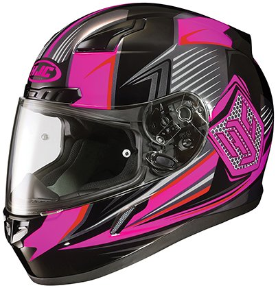 HJC CL-17 Ladies Full Face Helmet Striker Graphic MC-8 Pink (XS) ()