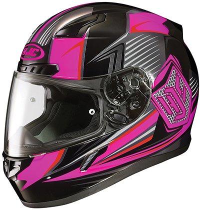 HJC CL-17 Ladies Full Face Helmet Striker Graphic MC-8 Pink (XS)