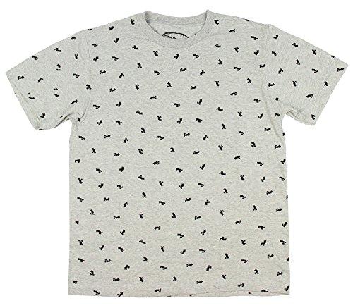 (Disney Mickey Mouse Minature Allover Licensed Men's T-Shirt (Medium))
