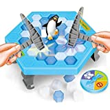Crashed ice Game Puzzle Table Games Penguin ice pounding Penguin ice Cubes Save Penguin Knock ice Block Wall Toys Desktop Paternity Interactive Game